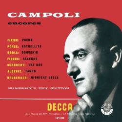Alfredo Campoli  -- Encores...